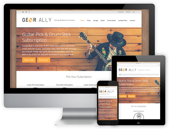 Gear Ally - Desktop and Mobile