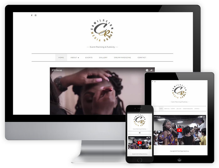 Website Sample - Camil Reign
