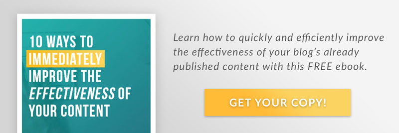 Improve Your Content's Effectiveness