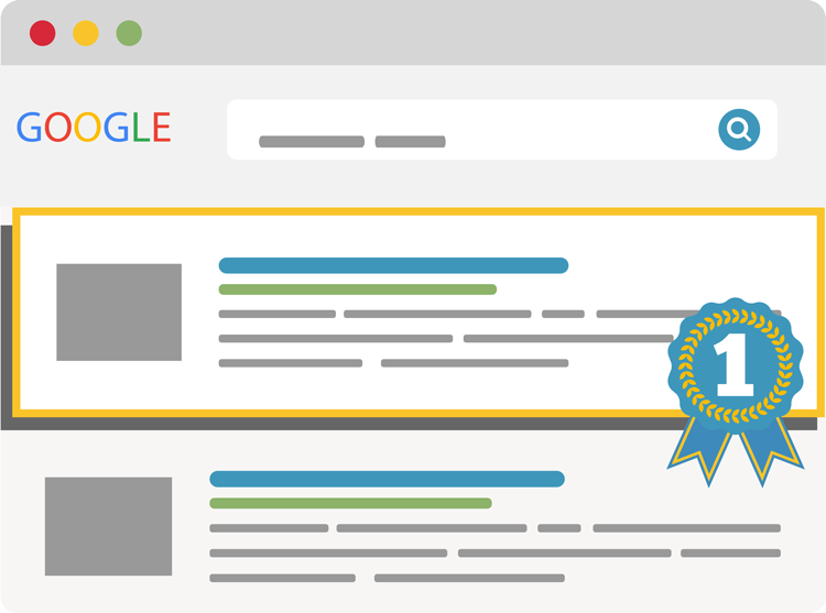 Google Content Results Graphic