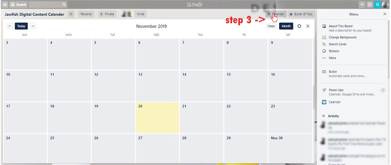trello content calendar 0003 Layer 3